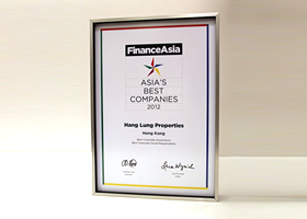 """Best Corporate Governance"" and ""Best Corporate Social Responsibility"""