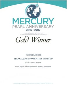 MERCURY Awards 2016/2017