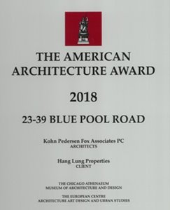 The International Architecture Awards 2019