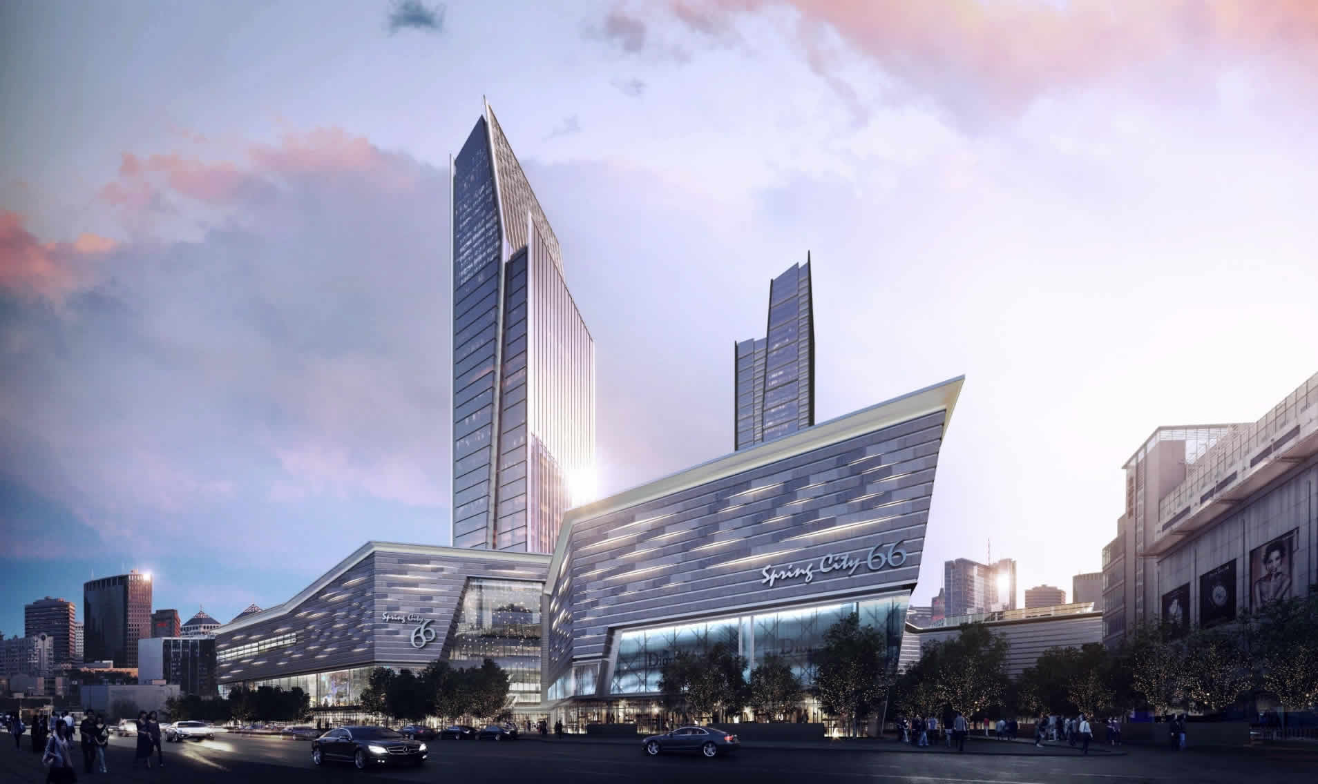 Built by a world-renowned construction team, the mall of Spring City 66 is expected to be open in mid-2019 and is poised to become Kunming's most striking landmark.